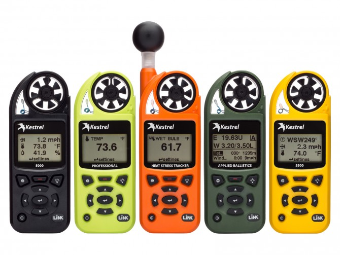 Kestrel Wind meters and Intrinsically safe